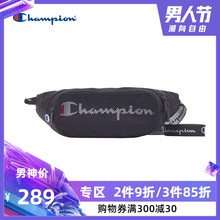 CHAMPION Men's and Women's Leisure Trend Grass LOGO Champion Net Bag Slant Bag