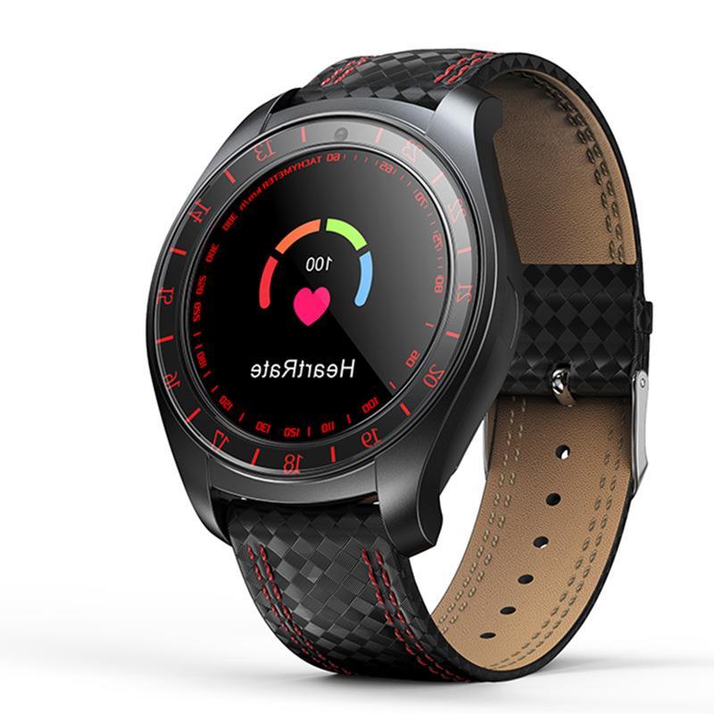 创意新款智能手表圆屏测心率插卡打电话拍照摄像手表礼物礼品新款