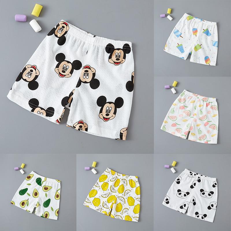 1岁宝宝裤子儿童夏季薄款男童女童夏装短裤0婴儿纯棉2外穿开裆裤3