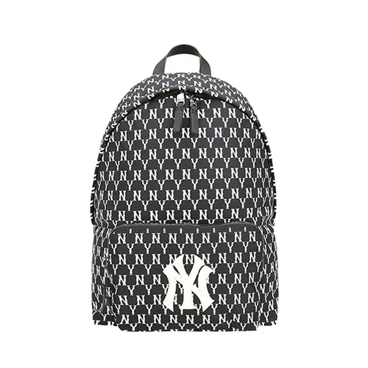 South Korea MLB backpack mens and womens NY small backpack Mini ins Chaoya same couple backpack childrens schoolbag