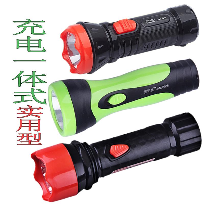 可充电式LED小手电筒 迷你家用酒店消防学生户外便携耐用应急照明