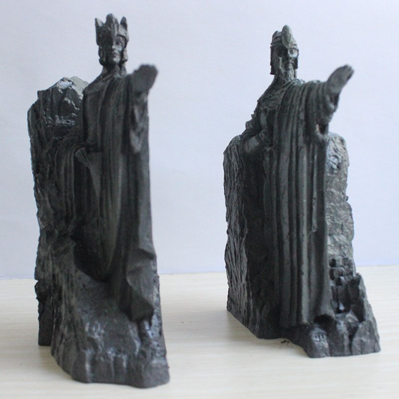 Lord of the rings the door of Gondor around the hobbits gift box statue of agonas