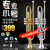 Eisenli Small musical instrument Drop B tune professional student adult Beginner test class playing Western three-tone trumpet