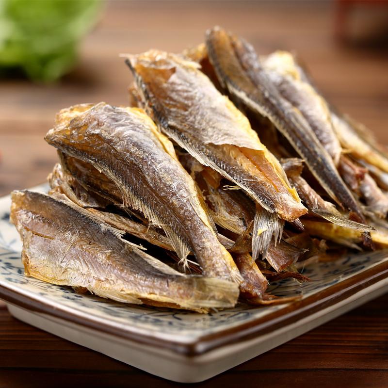 宁波产 香酥小黄鱼干/黄花鱼干 香烤黄花鱼 即食海鲜零食 250g