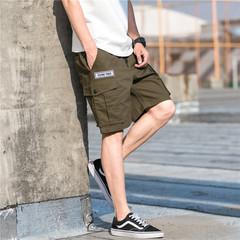 18年夏季新款男士休闲宽松工装短裤五分裤 101A-K016-P40