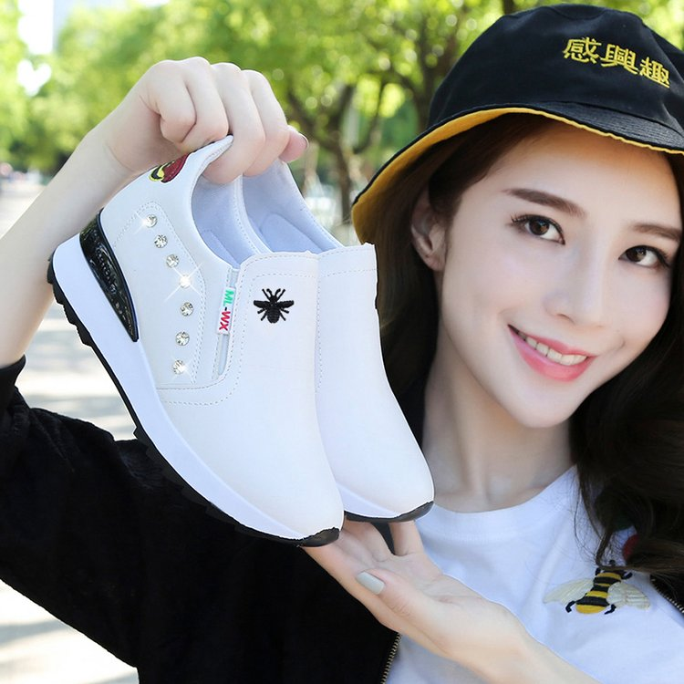 New small white shoes womens shoes in spring