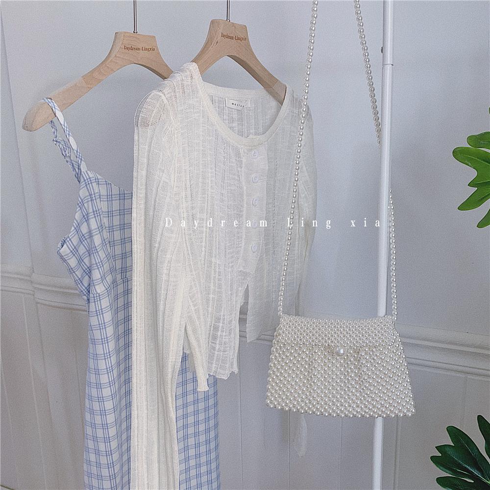 《轻罗衣》白色防晒衣||Daydream聆夏 6月18日0点上新 78