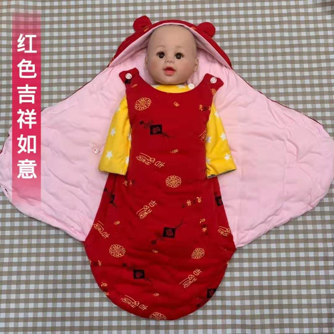 Baby sleeping bag thickened in autumn and winter