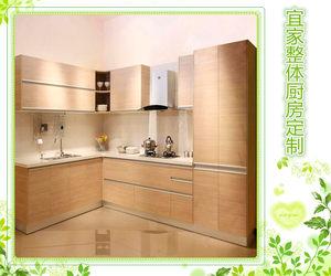 杭州人气热卖宜家整体橱柜烤漆门定制新款特价冲冠免费测量安装