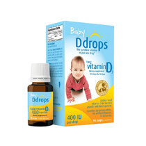 (direct) Canadian Baby Ddrops Infant vitamin D3 drip baby calcium supplementation VD3 2.5mL