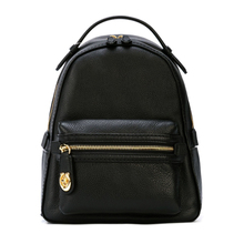Directly operated COACH/Ms. Kouchi leather litchi pattern backpack shoulder bag large capacity fashion bags