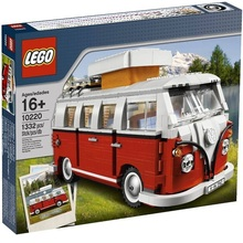 Direct sale LEGO creative series Volkswagen T1 camping car 10220 assembled building block toys