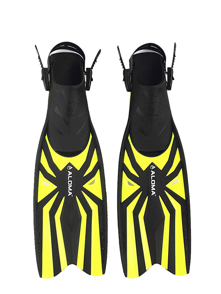 潜水打捞脚蹼开放式蛙鞋潜水用品深潜装备男女浮潜三宝diver fins