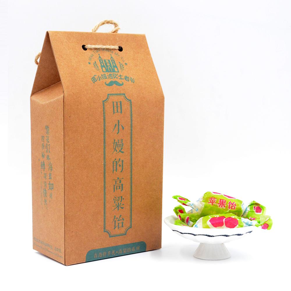 正宗青岛特产 苹果味 高粱饴软糖 立式礼盒装 田小嫚遇见土老爷