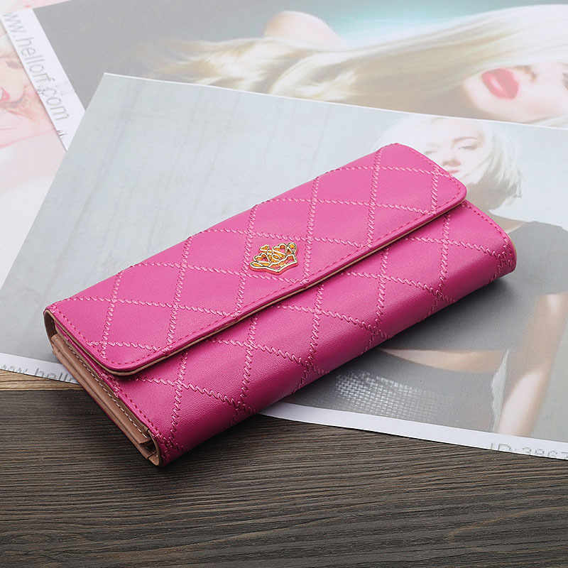 [special offer for new products is limited to 500 pieces] womens 30% off Long Wallet large capacity multi card womens bag