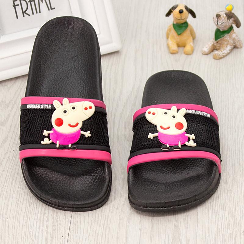 儿童网面拖鞋女童宝宝可爱男童防滑室内外家居亲子鞋