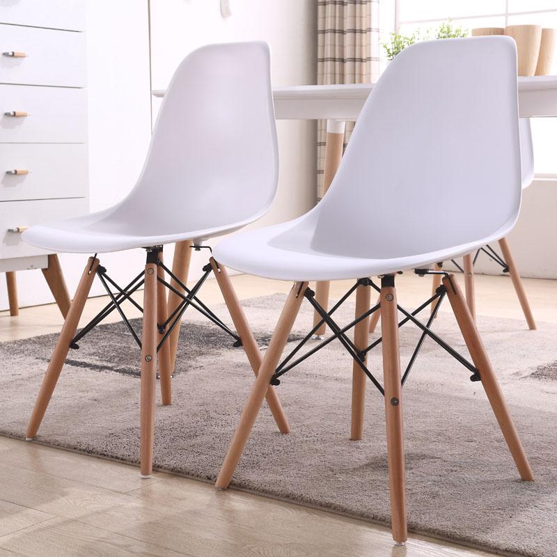 Стул ikea современный простой письменный стол домой личность ирак уильямс компьютер стул спинка пластик стул нордический стул