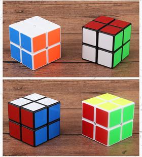 二阶魔方2阶三阶顺滑幼儿园小学生初学魔方套装礼物玩具四阶镜面