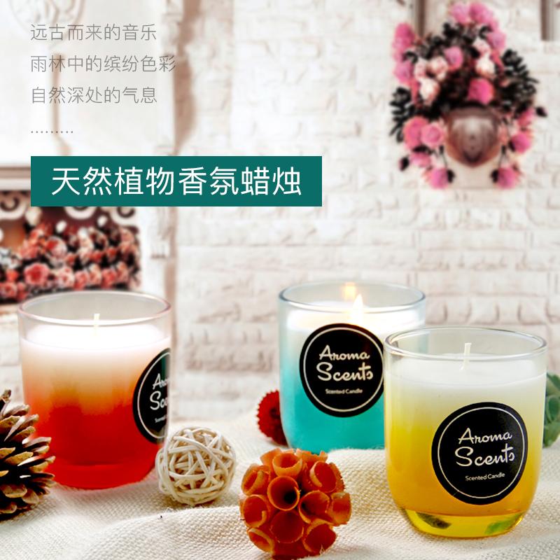 Новые товары нет дым ароматерапия масло свеча камень воск завод свеча спальня гостиная туалет кроме запах увеличение спальный