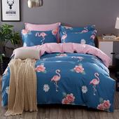 全棉斜纹四件套纯棉学生宿舍三件套单人双人床单被套床上用品