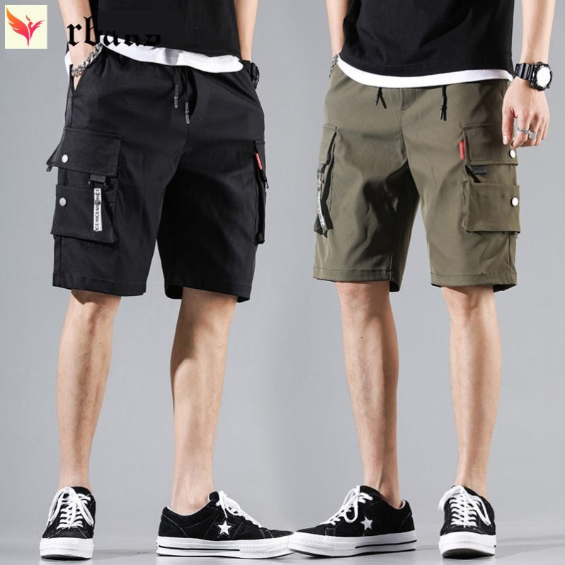 Youth seaside personalized basketball pants sports home five Division of labor shorts mens fashion brand casual versatile hot pants