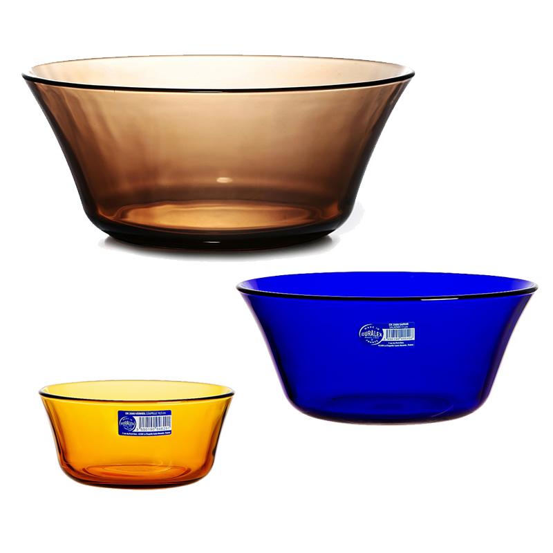 法國多萊斯品牌館 進口鋼化玻璃沙拉碗 微波爐耐熱 蒸煮餐碗 湯碗