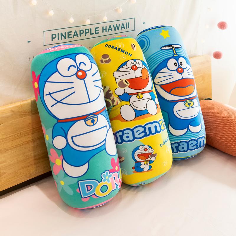 哆啦a梦公仔叮当猫玩偶布娃娃机器猫毛绒玩具蓝胖子抱枕多啦爱梦