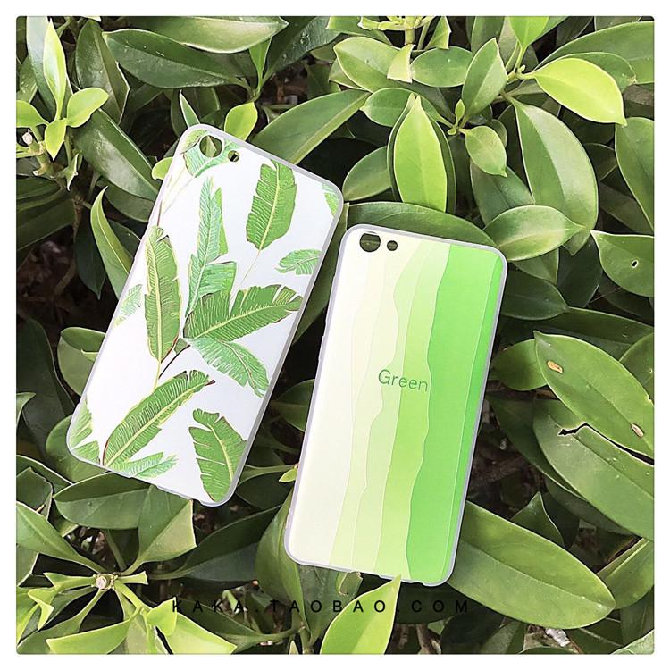 韩国小清新绿渐变 苹果5s手机壳小清新iPhone4s手机套5se男女款4s