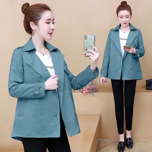 風衣女短款小個子2020秋裝新款韓版寬松二八月外套大衣春秋小外衣