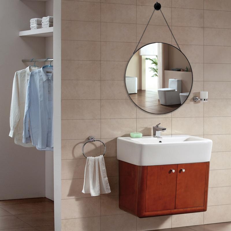 12-02新券北欧浴室镜洗手卫生间椭圆形镜子