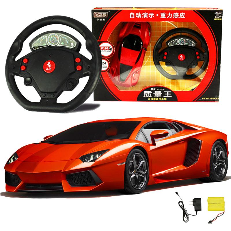 超大可充電遙控車電動方向盤遙控汽車模型兒童玩具車男孩賽車漂移