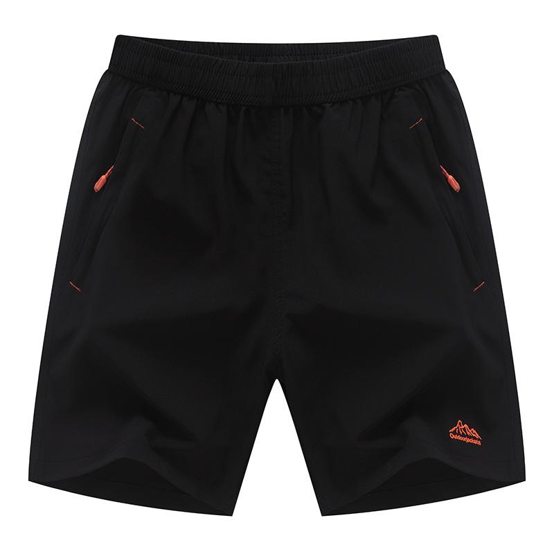 2020 summer mens 5-point shorts breathable sports casual pants 5-point thin mens pants