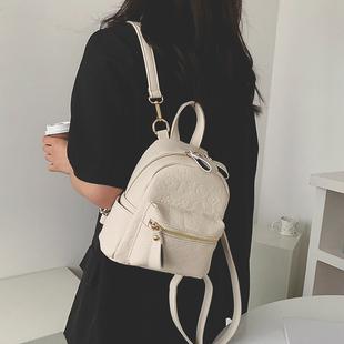 潮韩版 洋气单肩斜挎包ins百搭双肩小背包 质感小包包女包2021新款