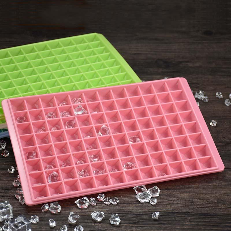 5只包邮大钻石冰格冰块盒制冰模具盒冻冰块工具可叠加96格冰格