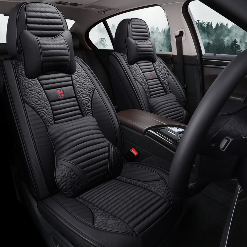 2017 Harvard H6 blue 1.5T red sport luxury Harvard four seasons leather all inclusive car cushion cover