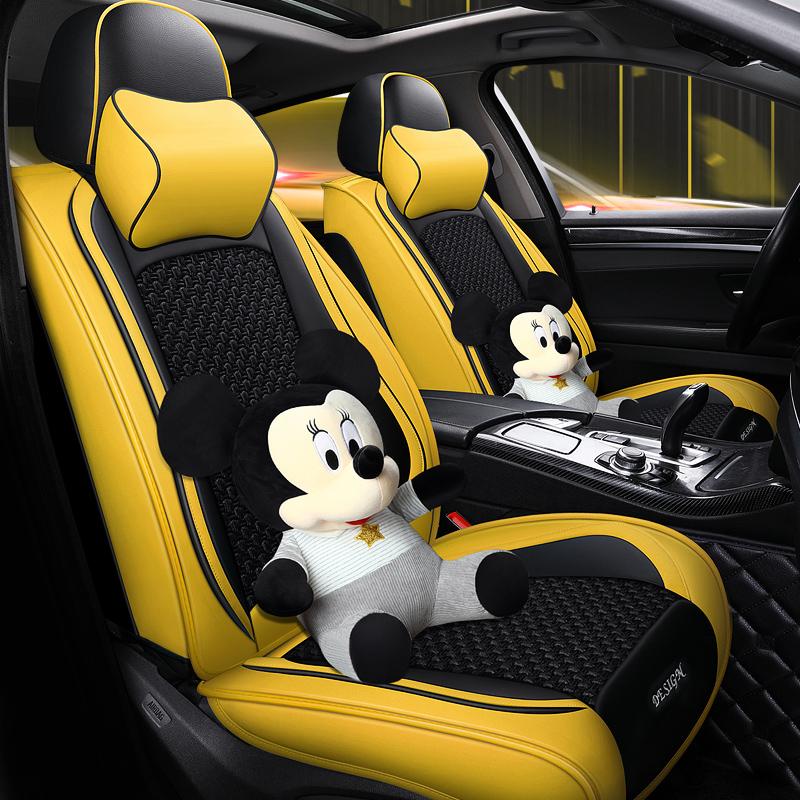 2019項広汽伝祺GA 4伝奇GS 4 GS 3通気性のある氷糸自動車クッション四季専用のシートカバー