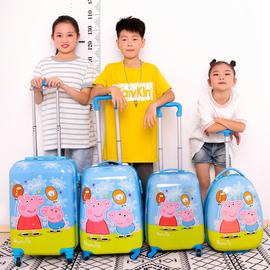 儿童卡通旅行箱宝宝小行李箱男孩拉杆箱粉旅行箱公主旅游女童皮箱
