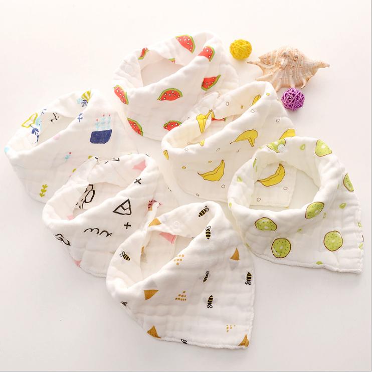 宝宝纯棉三角巾