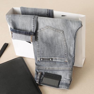 2018春夏主推 5827 P165 男士修身牛仔裤 小脚 黄底 微弹力 薄款
