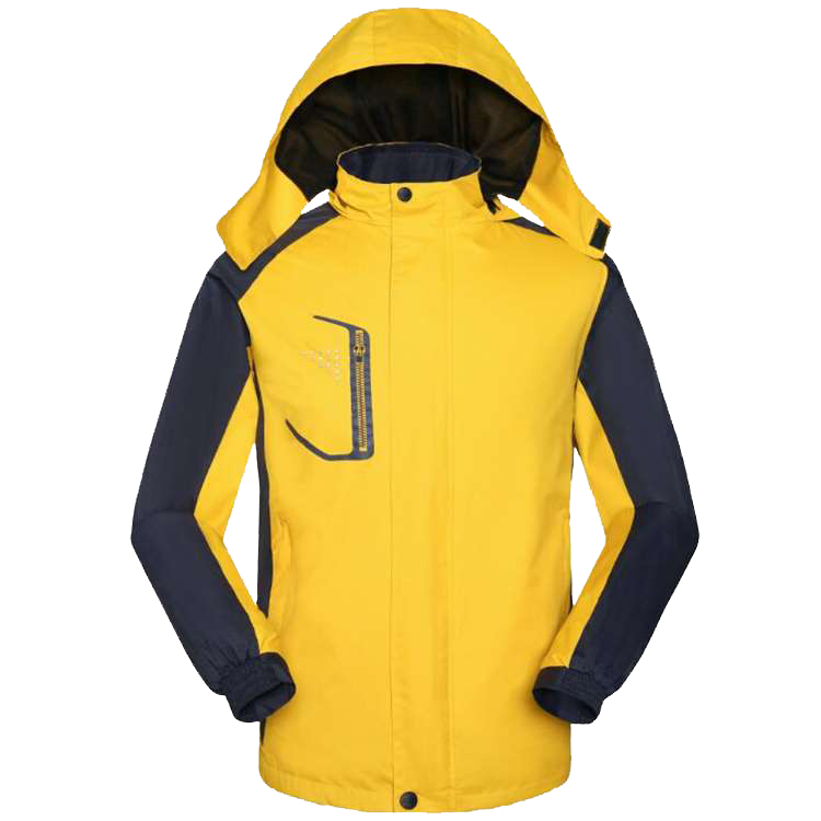 Customized outdoor travel waterproof thin hooded detachable mens and womens tactical stormsuit coat windbreaker jacket