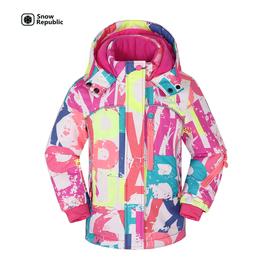 儿童滑雪服女童图片