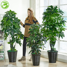 Fake Tree, Fair Tree, Simulated Plant, Large-scale Potted Ground Tree, Plastic Fake Flower Living Room, Interior Flower Decoration, False Green Planting