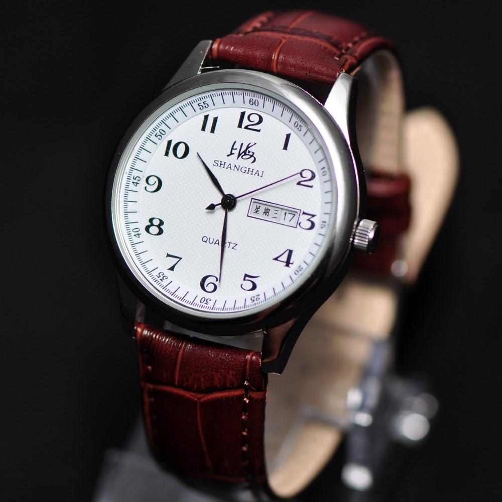 12月05日最新优惠上海品牌手表 学生潮流简约韩版ulzzang大数字情侣男士女士石英表