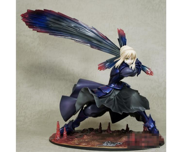 Fate night saber black saber King iron mallet hand made model doll 040