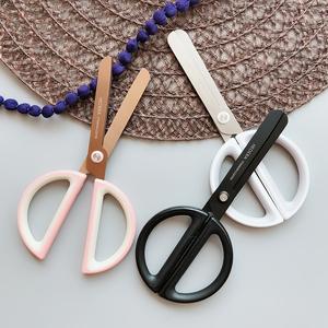 日本进口简约diy手工不锈钢剪刀