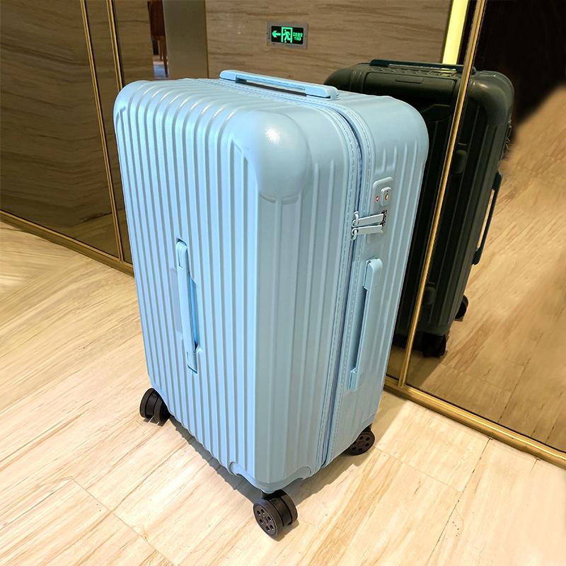 马冬强超大容量行李箱女拉链拉杆箱万向轮30寸加厚大号旅行箱男潮