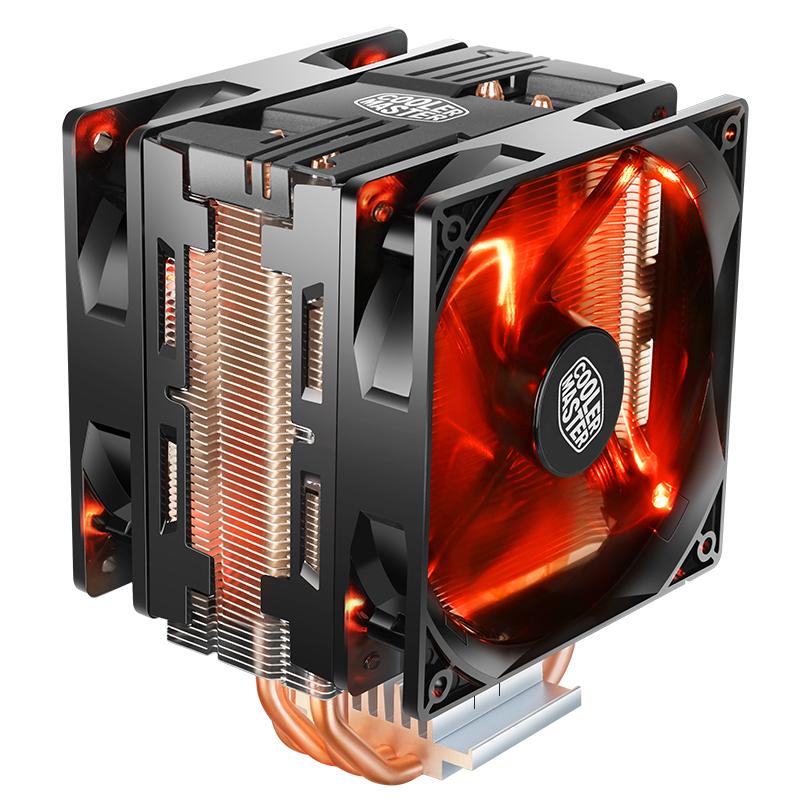 酷冷至尊CPU散热器暴雪T400i台式T410Rrgb电脑主机cpu风扇t400pro