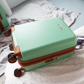 镇店之宝!出口日本20寸登机行李箱超静音防爆拉链拉杆箱子28托运