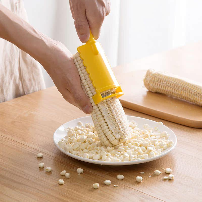 剥玉米器厨房用品神器脱粒机家用创意生活小工具削玉米粒刨剥离器