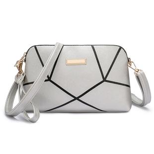 时尚几何纹贝壳包包女新款潮韩版手拿包